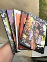 Witchblade Lot Trade Paper Backs Comics As Is Condition Graphic Novels Top Cow