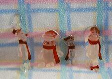 New Disney Winnie the Pooh Tigger Piglet Eeyore Figurine 4pc Ornament Set