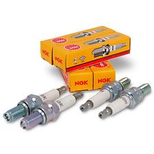 NGK SPARK PLUGS MARINE ENGINE NGK BUZ8H #7447 SET OF 4 BOAT ENGINE IGNITION