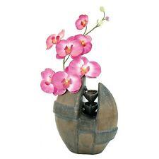 Fontaine + Vase Intégré Céramique Santorin Ambiance Nature