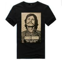 "Charles Bronson ""youth attack"" t-shirt Spazz Limp Wrist Crudos Infest Das Oath"
