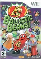 Jelly Belly Ballistic Beans Nintendo Wii 3+ Puzzle Game