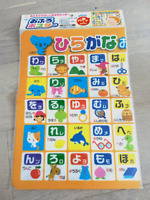 Japanese Hiragana Learning Sheet First Step in Japanese Brand New with Tracking