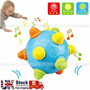 BPA Free Baby Music Shake Dancing Ball Bouncing Jump Sensory Developmental Toy