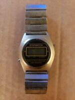 Vintage National Semiconductor Quartz Digital Men's Watch
