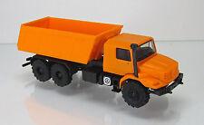 Herpa LKW 303415  Mercedes-Benz Zetros 6x6 Meiller-Kipper orange