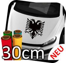 30cm Albanischer Adler Autoaufkleber Aufkleber Sticker Racing Wappen Albanien