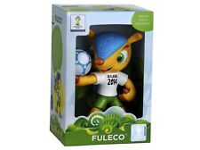 FULECO OFFICIAL MASCOT FIFA 2014 BRAZIL WORLD CUP RUBBER TOY VINYL NEW