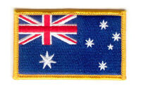 Australia australian FLAG PATCHES COUNTRY PATCH BADGE IRON ON NEW EMBROIDERED