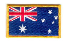 Australia australian FLAG PATCHES COUNTRY PATCH BADGE IRON ON EMBROIDERED