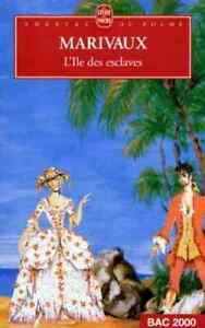 Livre - Marivaux - L'ile des esclaves - Le Livre de Poche,1973