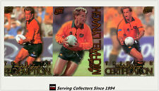 1996 Futera Rugby Union Trading Cards Michael Lynagh Redemption SAMPLE SET(3)