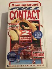 Full Contact Karate, Kickboxing VHS Video Retro, Supplied by Gaming Squad