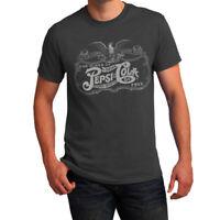 Pepsi Retro Vintage Logo Men Printed T-shirt