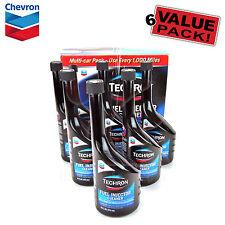 Chevron Techron Fuel Injector Cleaner, multi-car Pack, 6 Pack 16 oz Bottles