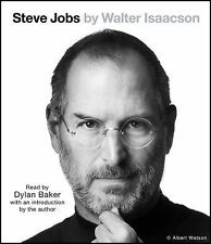 Steve Jobs by Walter Isaacson (2011, CD, Unabridged)