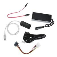 SATA/PATA/IDE Drive to USB 2.0 Converter Data Cable for HDD PC w/ External Power