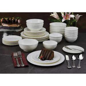 Wallace Napoleon Bee 40-piece Porcelain Dinnerware Set #29 (1759)