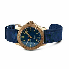 New Christopher Ward C60 Trident Bronze Pro 600 Diver 38mm Vintage Style Watch