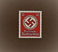 MNH stamp / 1942 Official / PF12 / LARGE Nazi Swastika / Third Reich Germany MNH