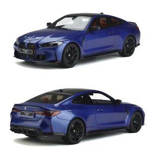 1/18 Gt Spirit BMW M4 G82 Competition Portimao Blue Précommand Delivered Feb