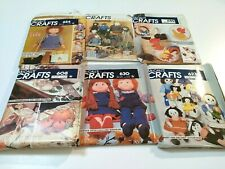 Vintage Sewing Patterns Lot of 20 Junk Drawer Mixed School Holidays Design Craft