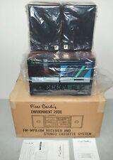 New! Nos! Vtg Pierre Cardin Am/Fm Radio Cassette Player Deck Stereo System