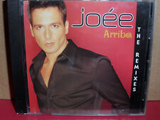 Joee - Arriba The Remixes CD Single with REMIX Latin Dance