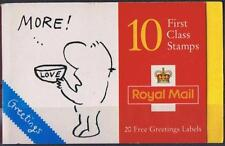 GB BARCODE BOOKLET KX8 1996 CARTOONS GREETINGS