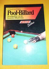 Pool Billard Deutsche Billard Union M.Bach & K.-W.Kühn