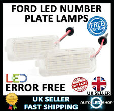 FORD FOCUS 2008> LED NUMBER LICENSE PLATE LIGHT LAMP XENON WHITE BULBS UPGRADE