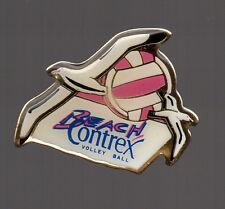 Pin's Contrex / Bach volley (ballon rose)