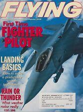 Flying Magazine (Jun 2001) (Air Force F-16 Pilot, Weather Radar, NTSB Data)