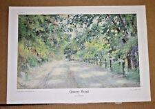 Quarry Road Kentucky artist Paul Sawyier Louisville Road Kentucky RiverLandscape
