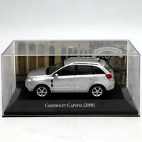 IXO Altaya 1/43 Chevrolet Captiva 2008 Silver Diecast Models Limited Edition