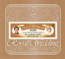 (13456) Seychelles MNH Princess Diana Royal Wedding u/m m 1981