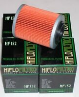 NEW HiFlo 152 Oil Filter Can-Am Outlander Renegade 400/500/650/800/1000 (4-Pack)