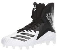 Adidas Mens Freak X Carbon High Football Cleat White Black 18 M