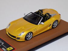1/43 BBR Ferrari SA Apart in Tristrato  Yellow from 2010  Leather Base  GP184
