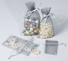 Mix 48 ORGANZA WEDDING PARTY FAVOR GIFT BAGS CANDY SHEER BAGS JEWELRY (12) Color