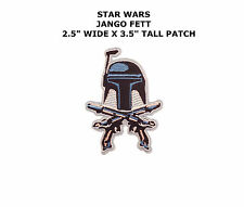 STAR WARS STORM TROOPER BOBA FETT MANDAlLORIAN IRON/SEW-ON PATCH US SELLER