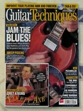 GUITAR TECHNIQUES + CD July 2015 JAM The BLUES Allman Brothers CHET ATKINS Dead