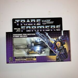 Transformers G1 KICKBACK Complete Vintage Generations One Insecticon