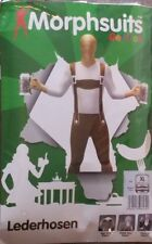 Adult LEDERHOSEN  Morph Original Morphsuits party costume XL size