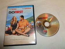 USED  DVD Movie 50 First Dates Wide Screen Special Edition    YS