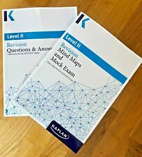 Kaplan Schweser CFA Level 2 2019 Revision Set: Question & Answers + Mindmap book