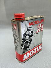 alt Kanister Öl motolub 2t Motul Vakuum Deko Garage vintage französisch Antik
