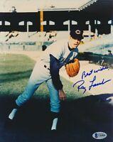 Signed Auto Autograph 8x10 Photo RAY LAMB Cleveland Indians w/ Beckett COA