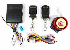 Motorcycle Bike Alarm System Anti-theft Security Remote with Immobiliser Feature