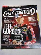 Pole Position NASCAR Magazine JEFF GORDON Joey Logano Ty Dillon Danica Patrick +